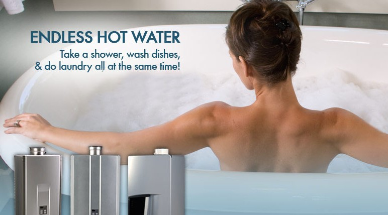 Knoxville Plumbing Tankless Hot Water Heaters
